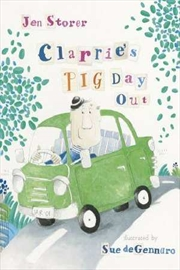 Clarries Pig Day Out | Paperback Book