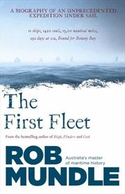 First Fleet   Paperback Book