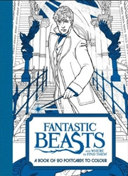 Fantastic Beasts: A Book Of 20 Postcards To Colour