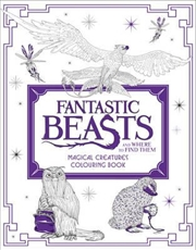 Fantastic Beasts: Magical Creatures | Colouring Book