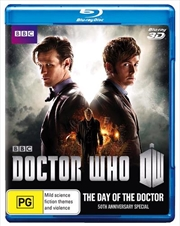 Doctor Who - The Day Of The Doctor - 50th Anniversary Special Edition | 3D Blu-ray