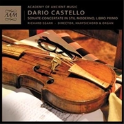 Dario Castello: Sonate Concert | CD