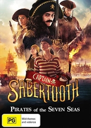 Captain Sabertooth | DVD