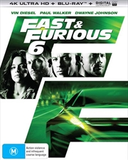 Fast and Furious 6 | Blu-ray + UHD + UV