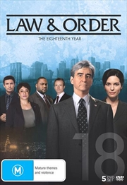 Law And Order - Season 18 | DVD