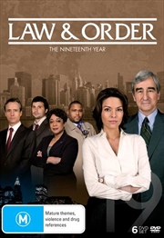 Law And Order - Season 19 | DVD