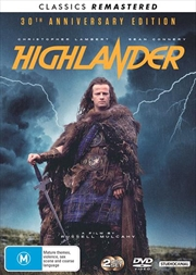 Highlander - 30th Anniversary Edition - Remastered