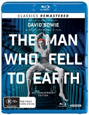 Man Who Fell To Earth - 40th Anniversary Edition - Remastered, The | Blu-ray