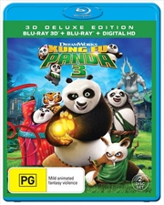 Kung Fu Panda 3 | 3D + 2D Blu-ray + Digital Copy