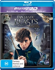 Fantastic Beasts and Where to Find Them | 3D + 2D Blu-ray + UV