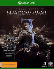 Middle Earth Shadow Of War | XBox One