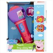 Peppa Pig: Sing A Long Mic