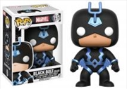Black Bolt Blue