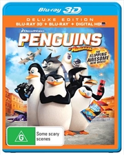 Penguins Of Madagascar - The Movie | 3D + 2D Blu-ray + UV