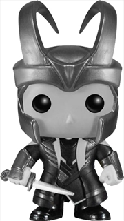 Loki Helmet Black And White
