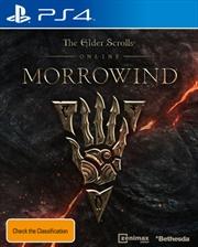 Elder Scrolls Online Morrowind | PlayStation 4