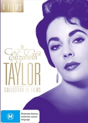 Elizabeth Taylor Collection Of Films, The | DVD