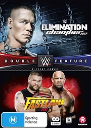 WWE -  Fast Lane 2017 / Elimination Chamber 2017 | DVD
