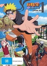 Naruto Shippuden Hokage - Box 1 - Eps 1-100