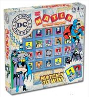 Dc Comics Match