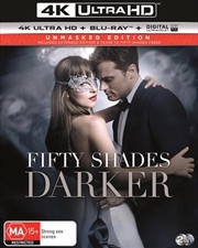 Fifty Shades Darker | Blu-ray + UHD + UV