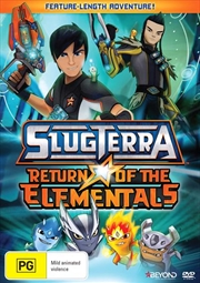 Slugterra - Return Of The Elementals