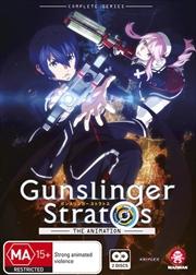 Gunslinger Stratos Series Collection - Subtitled Edition | DVD