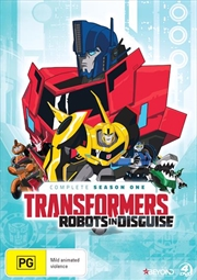 Transformers - Robots In Disguise - Season 1