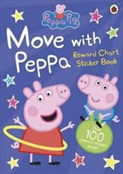 Move With Peppa | Paperback Book