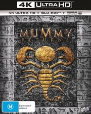 Mummy Returns | Blu-ray + UHD + UV, The