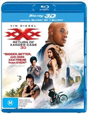 XXX - Return Of Xander Cage | 3D + 2D Blu-ray