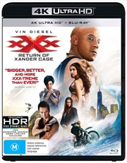 XXX - Return Of Xander Cage | Blu-ray + UHD + UV