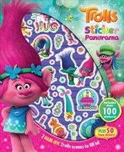 Trolls Sticker Panorama | Paperback Book