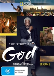 Story Of God With Morgan Freeman - Season 2, The | DVD