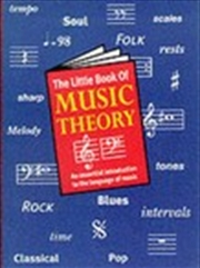 Little Book Of Music Theory | Paperback Book