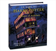 Harry Potter and the Prisoner of Azkaban - Illustrated Edition | Hardback Book
