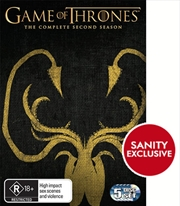 Game Of Thrones - Season 2 (EXCLUSIVE ARTWORK)