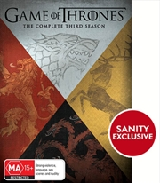 Game Of Thrones - Season 3 (EXCLUSIVE ARTWORK)