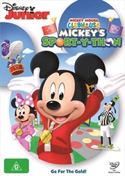 Mickey Mouse Clubhouse - Mickey's Sport-Y-Thon | DVD