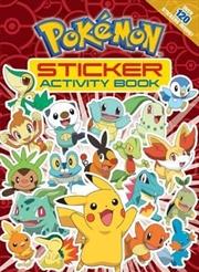 Pokemon Sticker Activity Book | Paperback Book