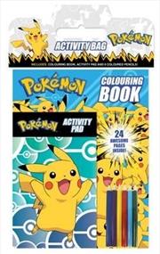 Pokemon Activity Bag | Paperback Book