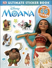 Moana: Ultimate Sticker Book