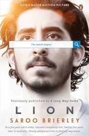 Lion: A Long Way Home | Paperback Book