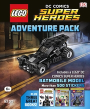 Lego Dc Comics: Adventure Pack | Hardback Book