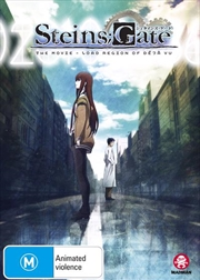 Steins;Gate The Movie - Load Region Of Deja Vu | DVD