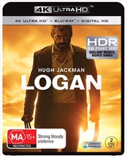 Logan | Blu-ray + UHD + UV