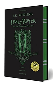 Harry Potter & The Philosophers Black Green Slytherin Cover