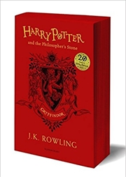 Harry Potter and the Philosopher's Stone - Gryffindor Edition | Paperback Book