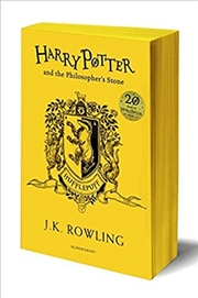 Harry Potter and the Philosopher's Stone - Hufflepuff Edition | Paperback Book