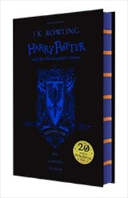 Harry Potter & The Philosophers Stone Black Ravenclaw Cover